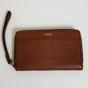 FOSSIL Tiegan Phone Wristlet Wallet NWOT